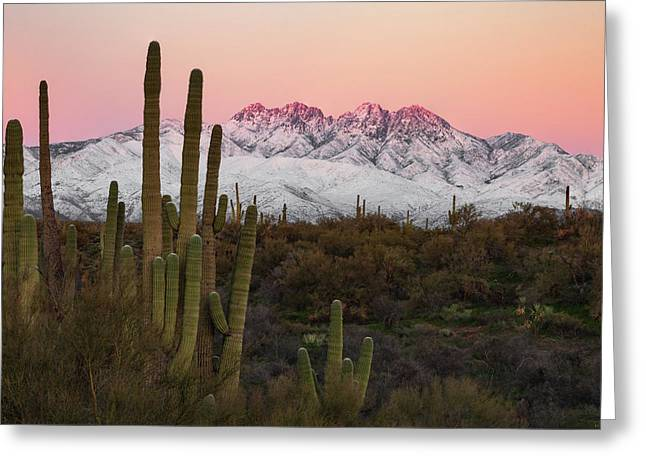 The Arizona Alps Greeting Card