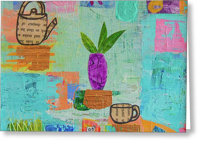 The Art Of Tea Two Greeting Card