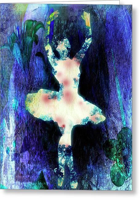 The Ballet Dancer Greeting Card