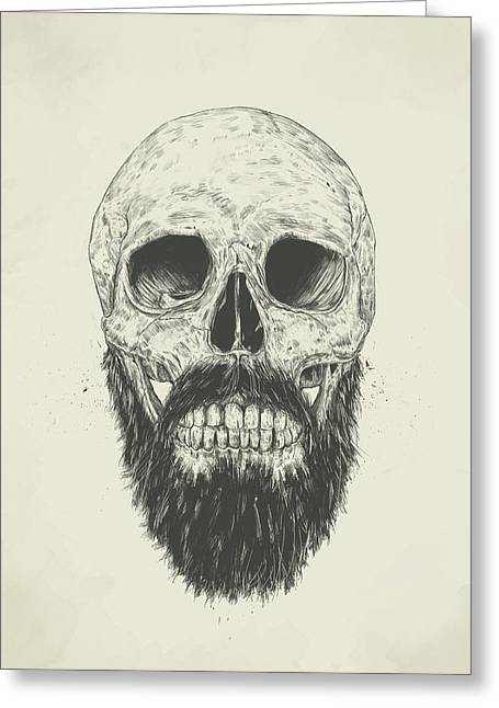 The Beard Is Not Dead Greeting Card