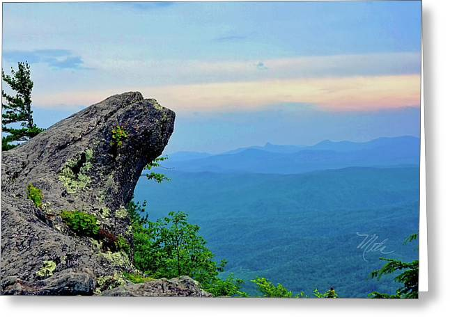 The Blowing Rock Greeting Card