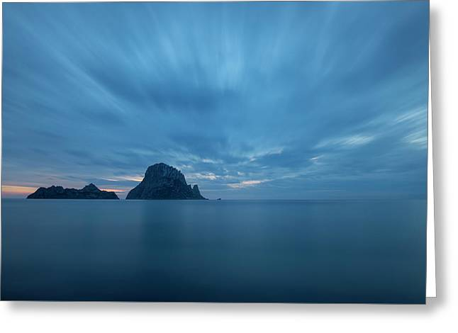 The Blue Hour In Es Vedra, Ibiza Greeting Card