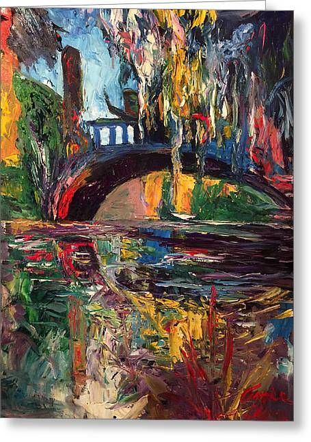 The Bridge At City Park New Orleans Greeting Card