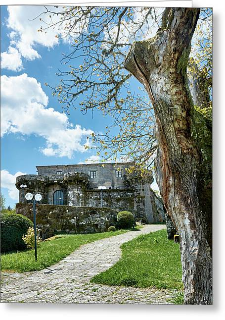 The Castle Of Villamarin Greeting Card