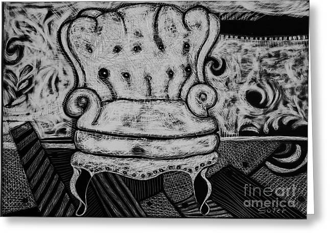 The Chair. Greeting Card