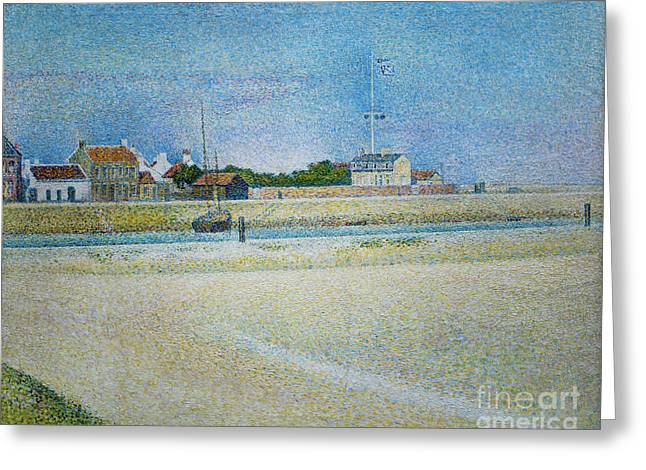 The Channel Of Gravelines Grand Fort Philippe Greeting Card