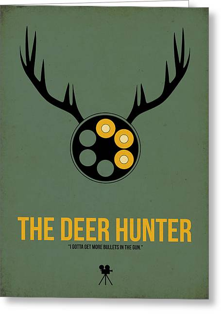 The Deer Hunter Greeting Card