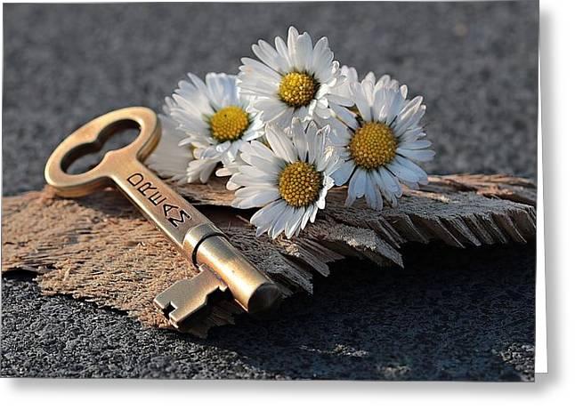 The Dream Key Greeting Card