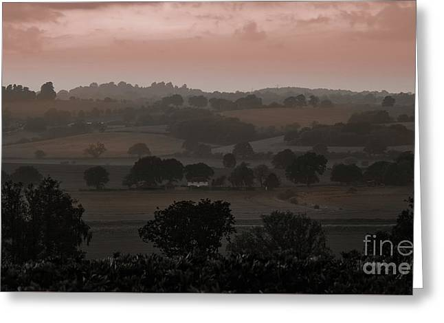 The English Landscape Greeting Card