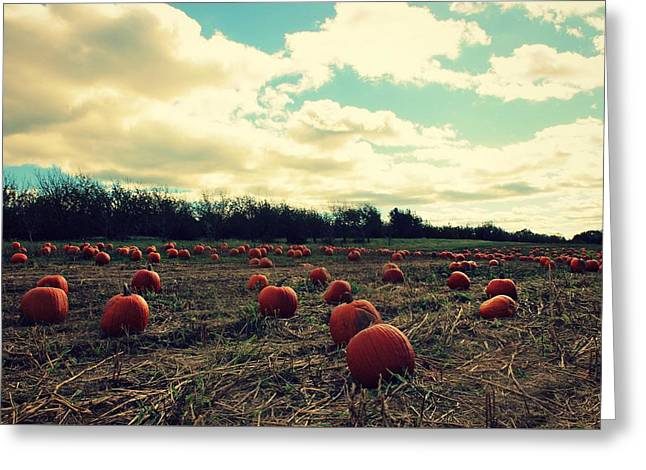 Greeting Card featuring the photograph The Great Pumpkin by Candice Trimble