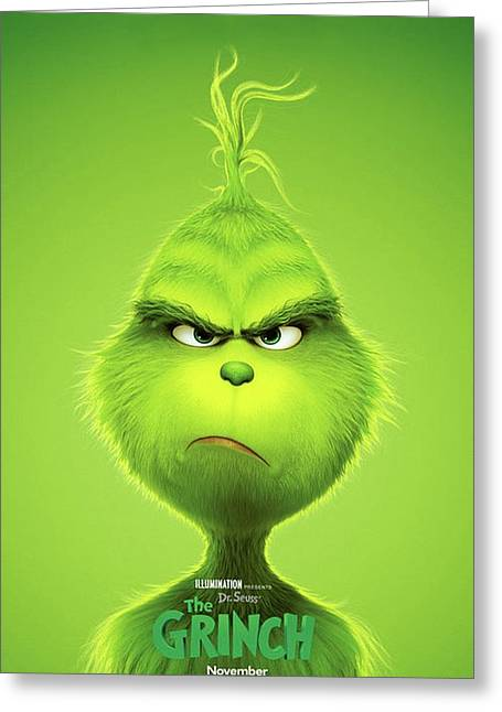 The Grinch, 2018 B Greeting Card