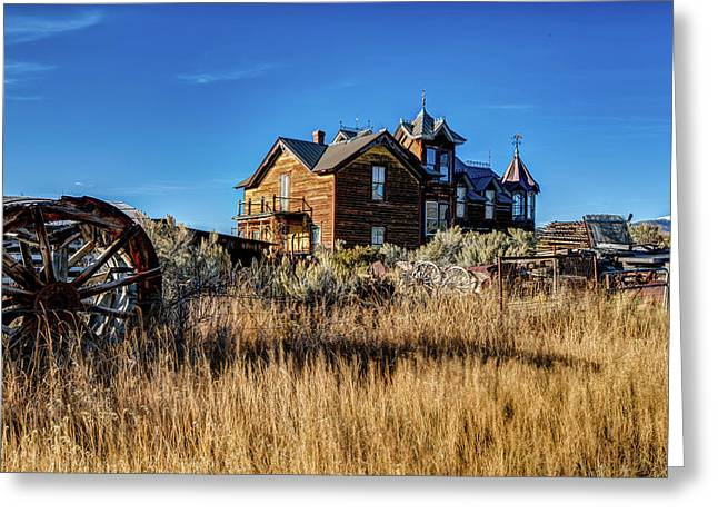 Greeting Card featuring the photograph The House by Pete Federico