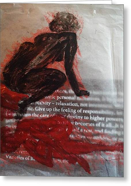 The Immolation Greeting Card