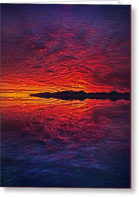 Greeting Card featuring the photograph The Last Chapter by Phil Koch