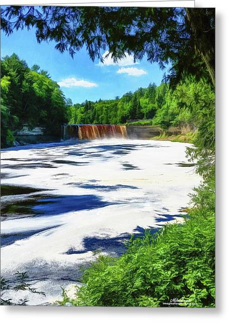 The Mighty Tahquamenon Greeting Card