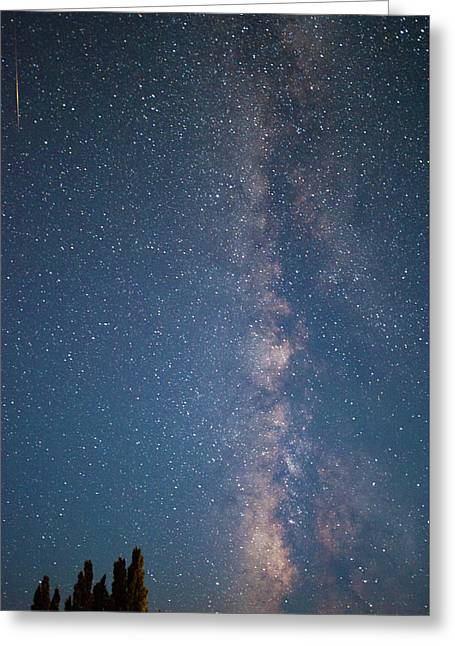 The Milky Way In Arizona Greeting Card