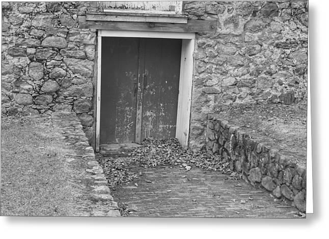 The Mill Door - Waterloo Village Greeting Card