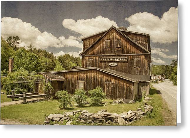 Greeting Card featuring the photograph The Mill Tavern by Guy Whiteley