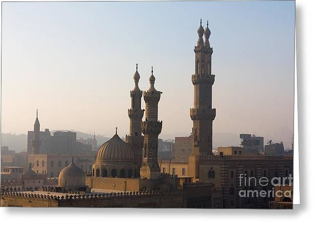 The Minarets Of Cairo, Egypt Greeting Card