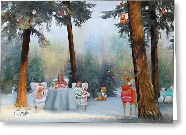 The Mystical Magical Wonders Of The Forest Greeting Card