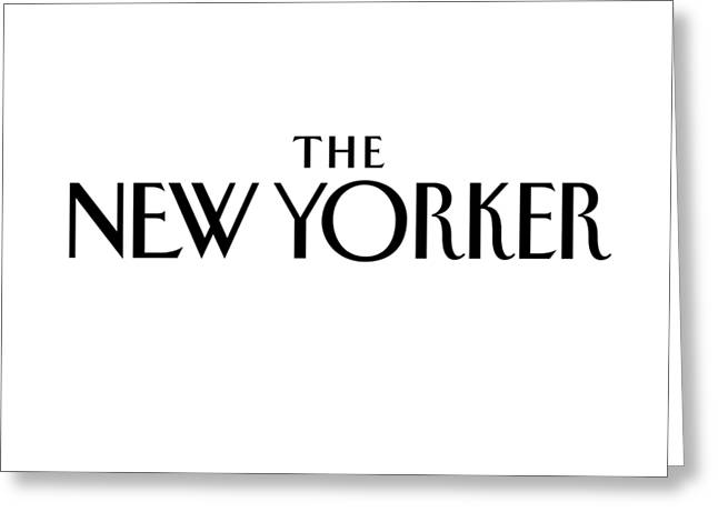 The New Yorker Logo Greeting Card