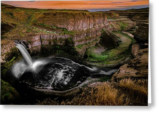 Greeting Card featuring the photograph The Palouse by Francisco Gomez