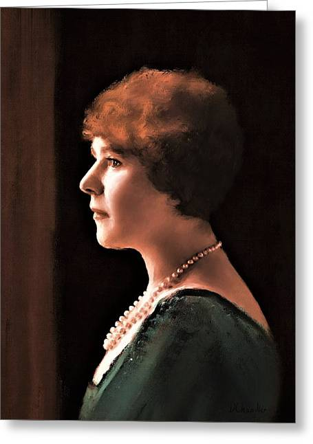 The Pearl Necklace Greeting Card