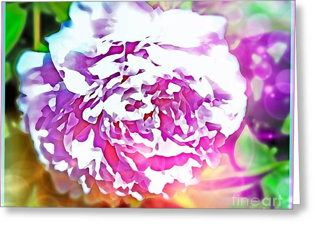 The Peony Greeting Card
