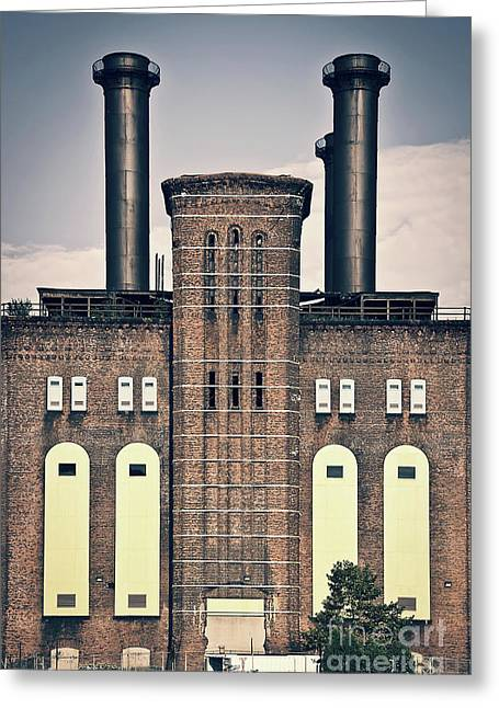 The Powerhouse, Jersey City Greeting Card