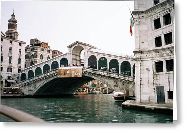 The Rialto Bridge  Greeting Card