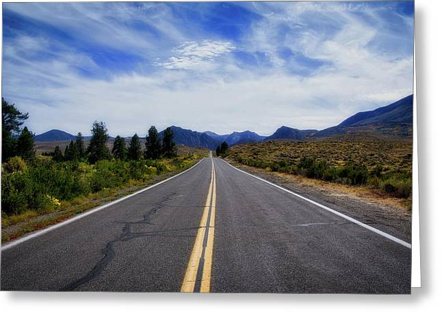 The Road Best Traveled Greeting Card