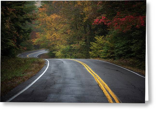 The Road To Friends Lake Greeting Card