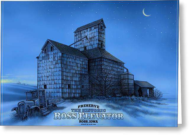 The Ross Elevator Version 3 Greeting Card