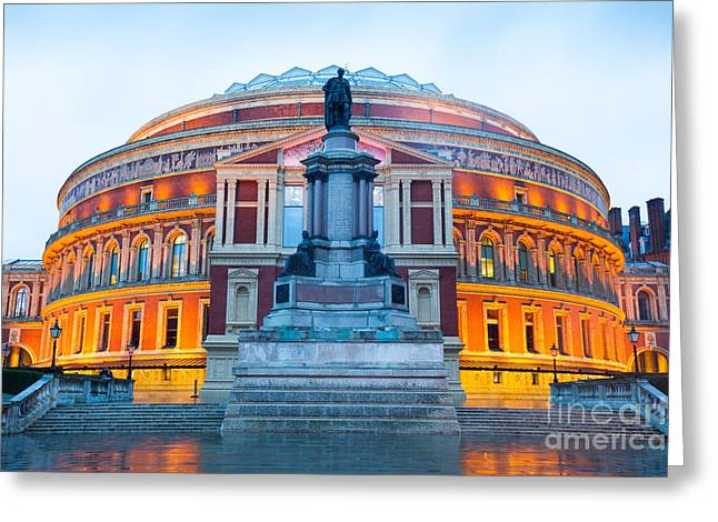 The Royal Albert Hall, Opera Theater Greeting Card