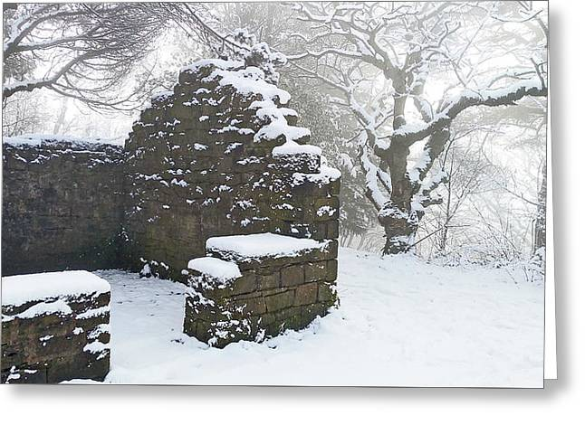 The Ruined Bothy Greeting Card