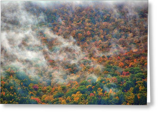 Greeting Card featuring the photograph The Shoulder Of Greylock by Raymond Salani III