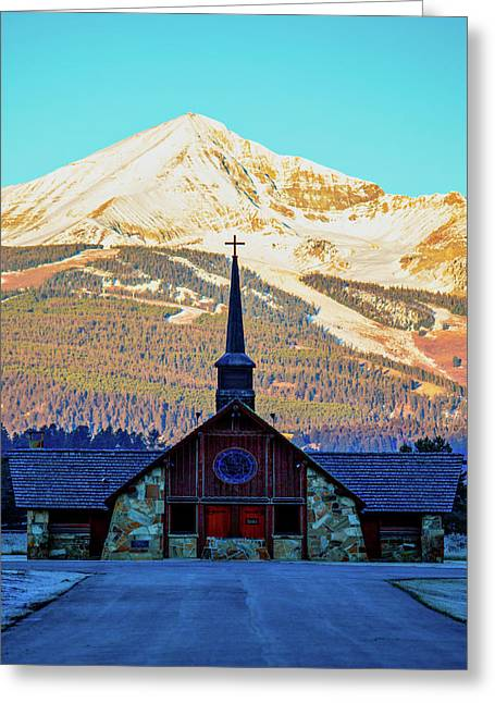 Greeting Card featuring the photograph The Soldiers Chapel by Pete Federico