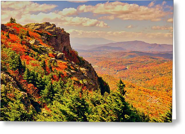 The Summit In Fall Greeting Card