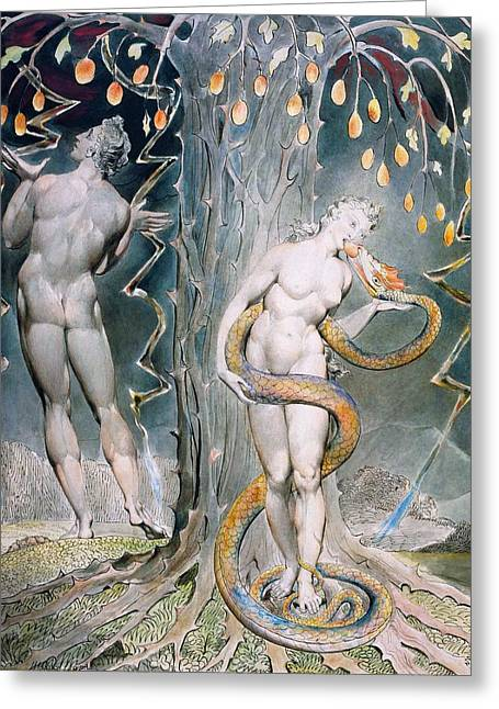 The Temptation And Fall Of Eve - Digital Remastered Edition Greeting Card
