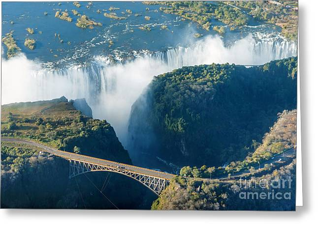 The Victoria Falls Is The Largest Greeting Card