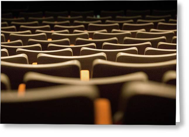 Theater Seats Greeting Card