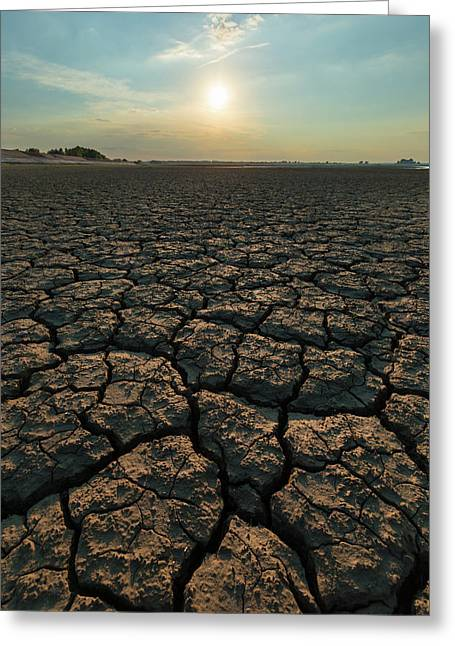 Thirsty Ground Greeting Card