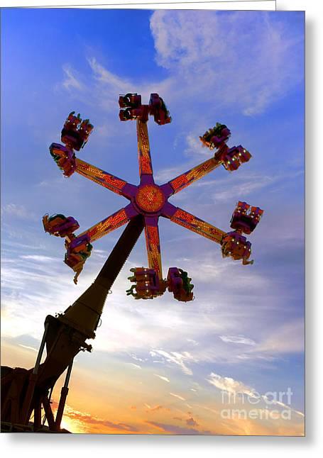 Thrill Ride Greeting Card