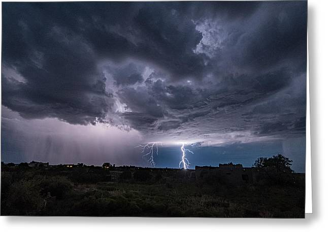 Greeting Card featuring the photograph Thunderstorm #2 by Lou Novick