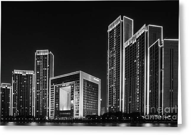 Tianjin Skyline Greeting Card
