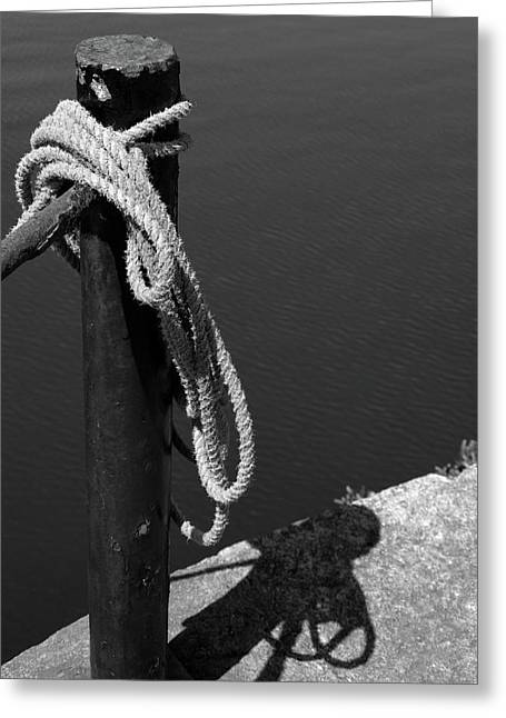 Tied, Rope Greeting Card