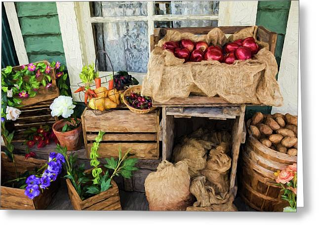 Greeting Card featuring the photograph Time Of Harvest - Hope Valley Art by Jordan Blackstone