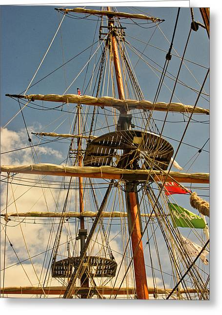 Time To Set Sail Greeting Card