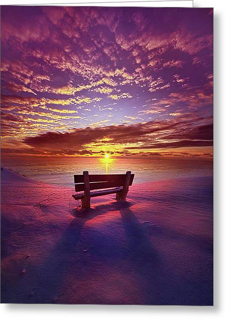 Greeting Card featuring the photograph To Belong To Oneself by Phil Koch