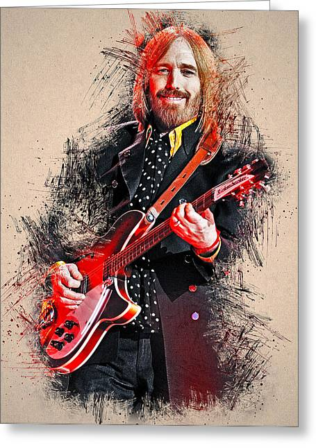 Tom Petty - 35 Greeting Card